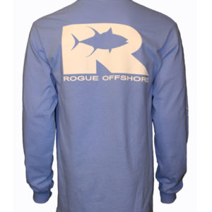 LSRO Tuna Logo Columbia Blue Back