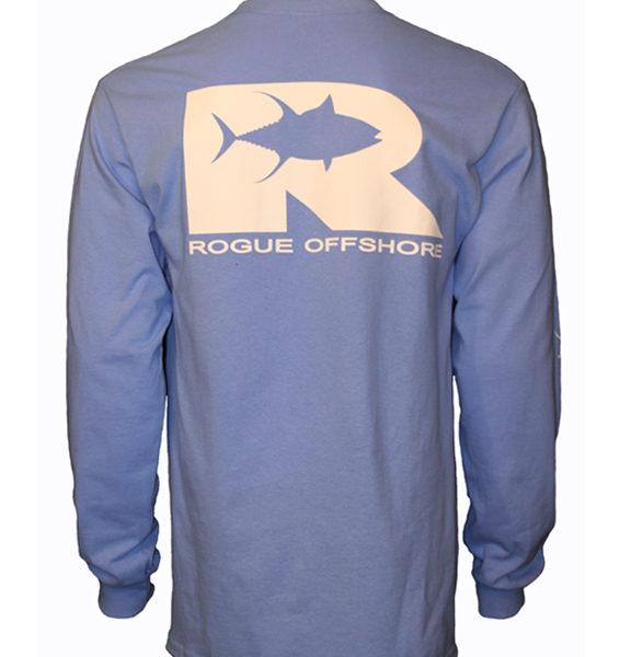 LSRO Tuna Logo Columbia Blue Back