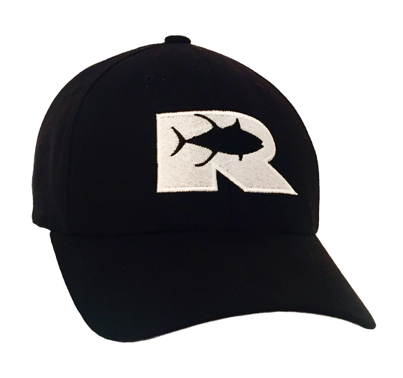 RO Fitted Black Cotton Hat