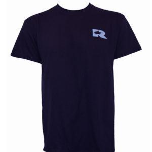 RO Marlin Logo Navy Tee Front