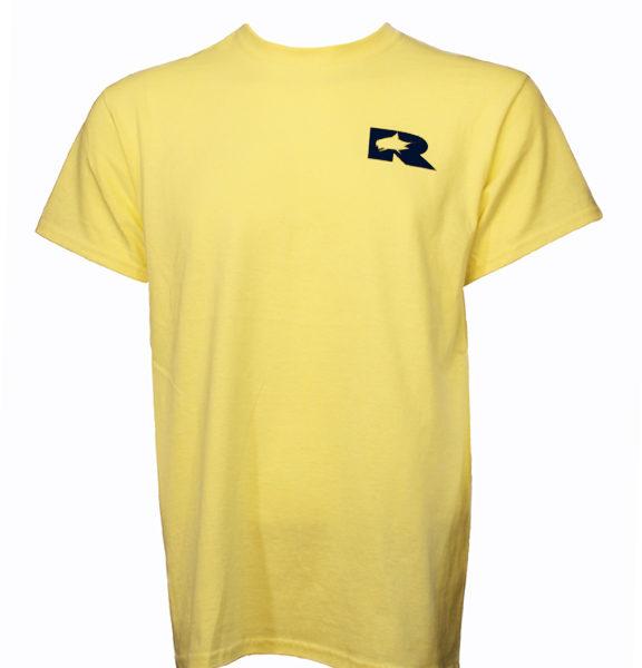 RO Marlin Logo Yellow Tee Front