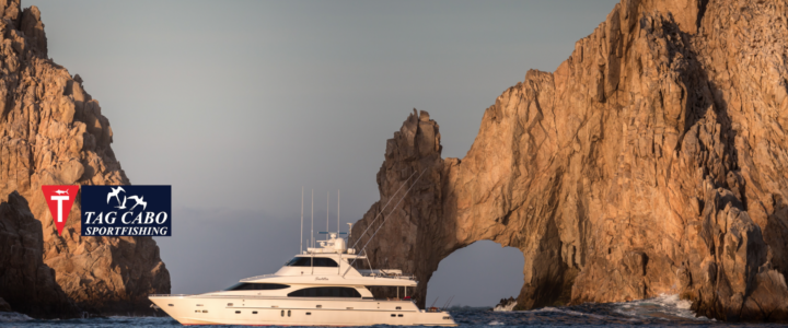 Fishing on board a luxury yacht charter in Cabo San Lucas